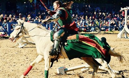 General Admission for Two or Four to King Richard's Faire on September 3, 8, 9, 15, or 16 (Up to 43% Off)