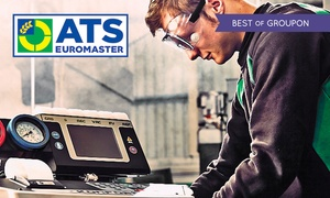 ATS Euromaster: ATS Euromaster: Combined Car Air-Con Recharge and Anti-Bacterial Treatment at Over 265 Locations Nationwide (41% Off)