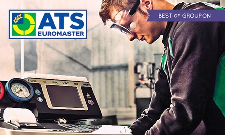 Car Air-Con Recharge with Optional Anti-Bacterial Treatment at ATS Euromaster, Multiple Locations (Up to 43% Off)