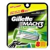 Gillette Mach3 Sensitive Men's Razor Blade Cartridges (8- or 16-Count)