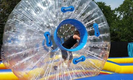 One-Day Inflatable Park Pass at Jump Around Fun Center (Up to 20% Off). Six Options Available.