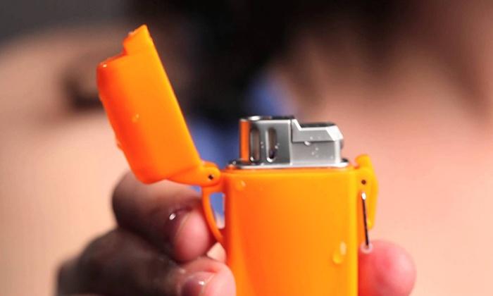 Outdoor Windproof Klipp Lighter