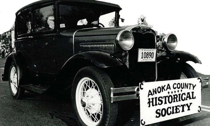 Anoka County Historical Society - Anoka: Behind-the-Scenes Gallery Tour or Ghost Tour from Anoka County Historical Society (Up to 44% Off)