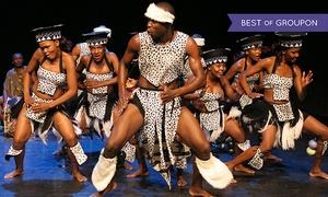 """Jabula Africa: 2 Tickets für """"Jabula Africa"""" von Dez. bis April in 12 Städten, u. a. in Ingolstadt, Heilbronn und Duisburg (40% sparen)"""