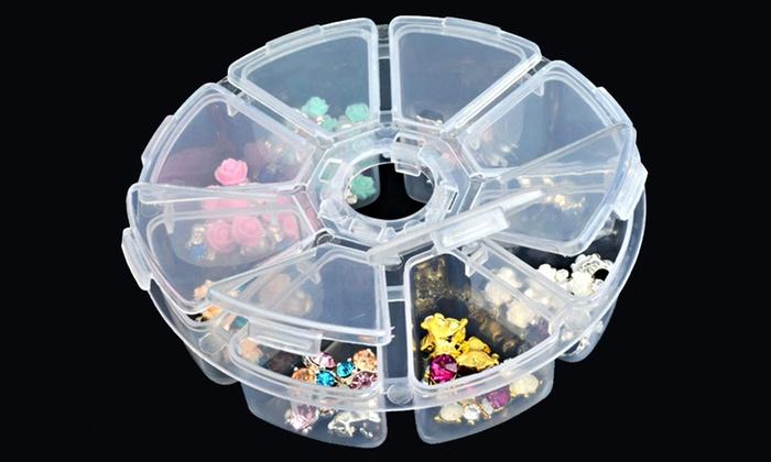 Round Jewelry Organizer 2Pack Groupon Goods