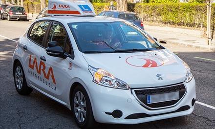 Curso intensivo para sacarse el carné de coche con 5, 10 o 12 prácticas desde 29 € en los centros de la Autoescuela Lara