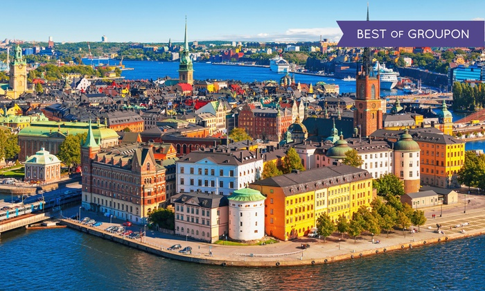 7- or 10-Day Scandinavia Vacation with Air from Pacific Holidays