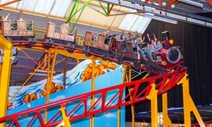 Kinderstad Heerlen: Kinderstad: ga een dagje klimmen, klauteren en springen of vier een kinderfeestje in Heerlen