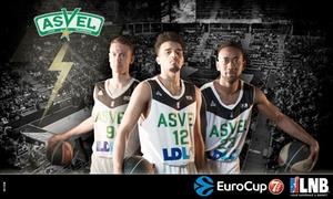 ASVEL Basket: 2 ou 4 places, catégorie au choix, pour des matchs ASVEL au choix parmi 4 rencontres du 14/10 au 28/10, dès 15 €