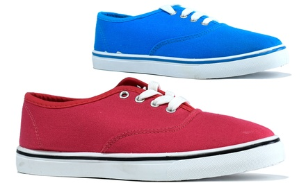 Women's Lace-Up Trainers