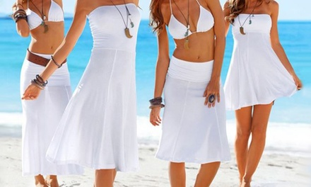 One (AED 79), Two (AED 129) or Three (AED 179) Convertible Beach Dresses