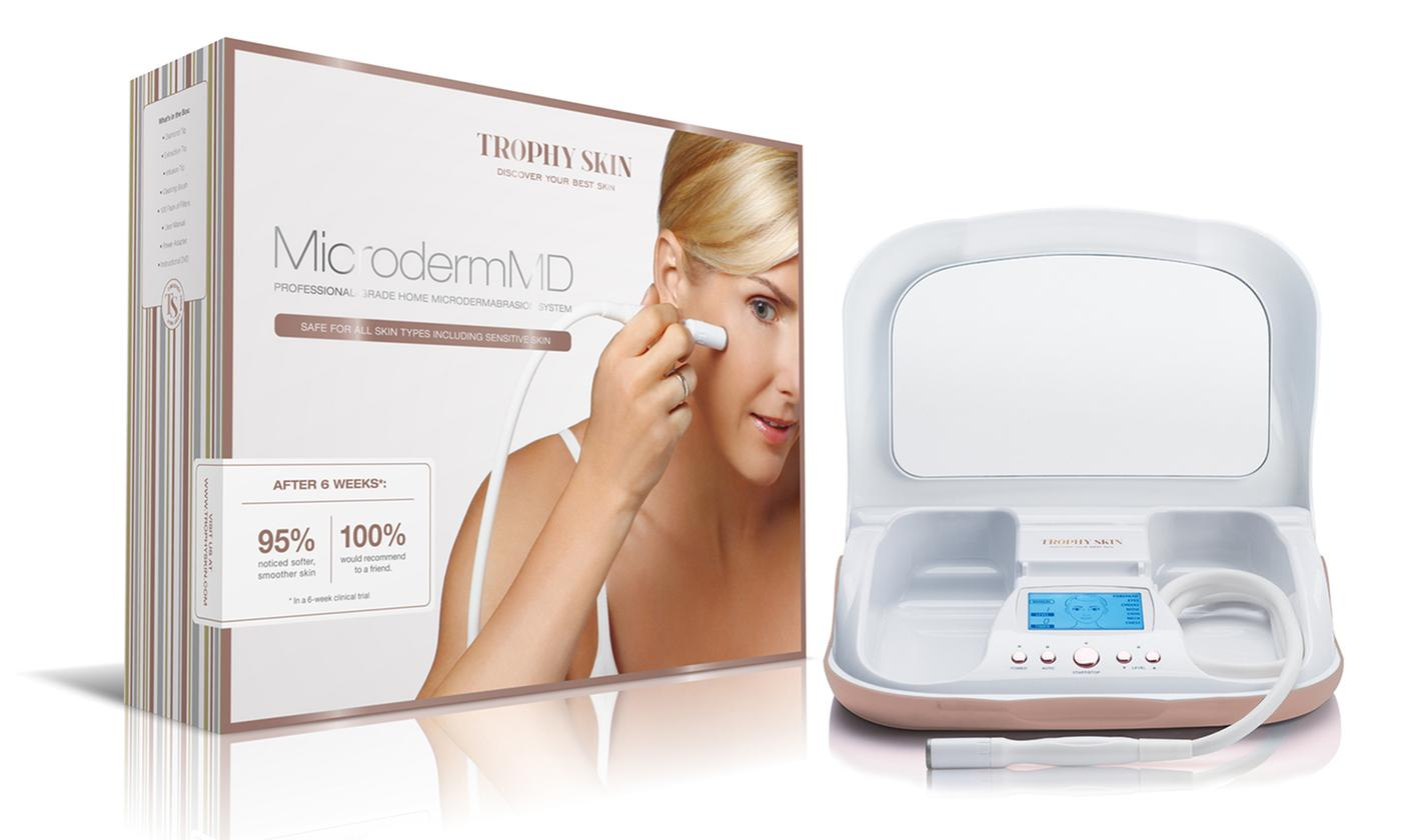 Trophy Skin MicrodermMD Home Microdermabrasion Kit