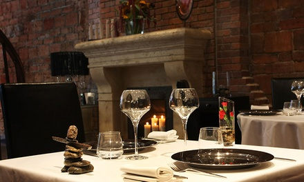 $90 for a Personalized Gourmet Lunch for Two with Wine at Europea Restaurant ($183 Value)