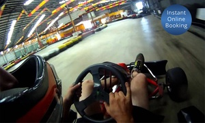 Indoor Kart: 10-Minute Karting Experience for Two ($35) or Four People ($69) at Indoor Kart (Up to $120 Value)