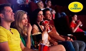 Cinesa: 1 entrada de cine desde 5,10 € en los Cinesa de toda España