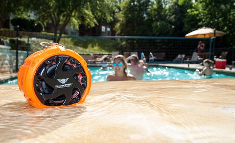 PowerTRIP Waterproof Lifestyle Wireless Bluetooth Smart-Speaker