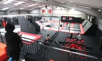 One-Hour Trampoline Park Access for One, Two or Four at Airborne Trampoline Park (Up to 38% Off)