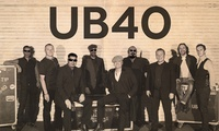 UB40: Tickets from $90.50, 17 - 18 November
