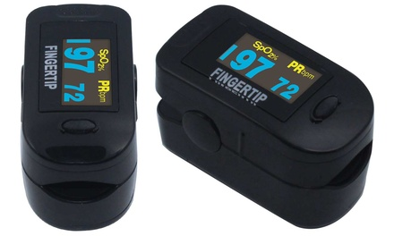 Concord Blackox Fingertip Pulse Oximeter with 6-Way OLED Display