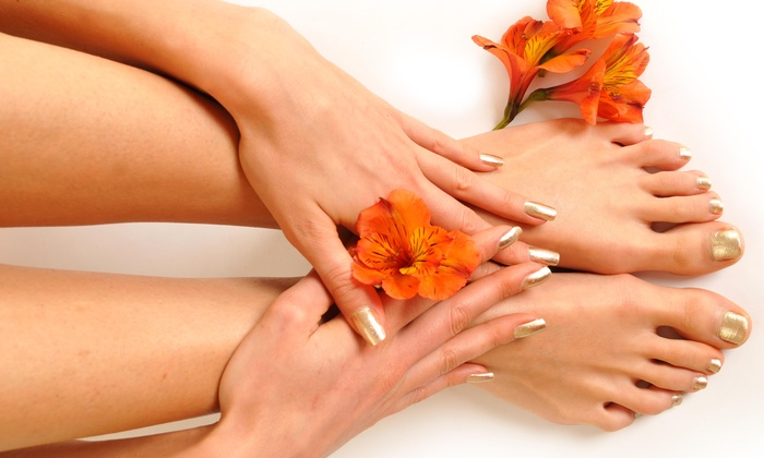 Sam's Nail Spa - Main Street Salon- Sam's Nail Spa: $30 for $55 Worth of Mani-Pedi — Sam's Nail Spa