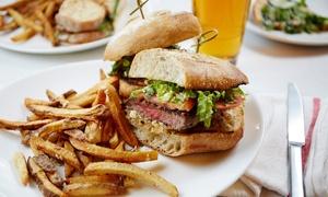 Glamour Steakhouse: Menu panino gourmet con antipasto, dolce e birra per 2 o 4 persone da Glamour Steakhouse (sconto fino a 58%)