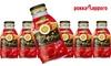 送料無料|ポッカサッポロ|サクサク角切り贅沢りんご300g ボトル缶24本