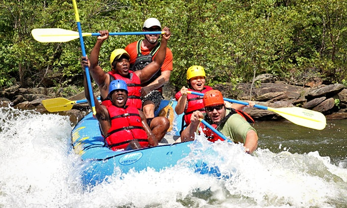 Ocoee Outdoors - Benton: Half-Day River Rafting and Ziplining Trip for One or Two at Ocoee Zipz (Up to 22% Off)