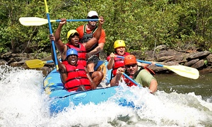 Ocoee Outdoors: Half-Day River Rafting and Ziplining Trip for One or Two at Ocoee Zipz (Up to 34% Off)