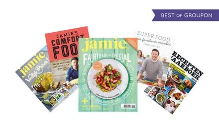 Moederdag: Jamie magazine + recepten of kookboek en DVDbox, je abonnement stopt automatisch