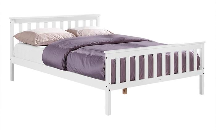 Marco de cama y colchón Hampton | Groupon Goods