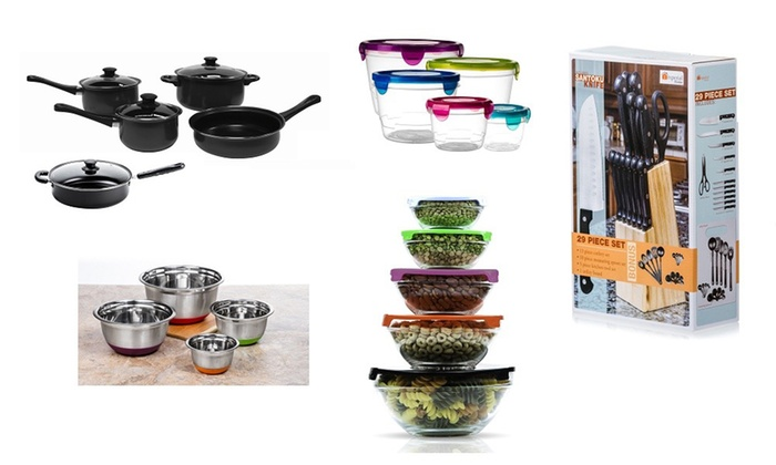 Imperial Home Kitchen Combo Set (62-Piece) | Groupon