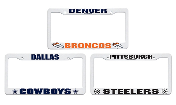 NFL License Plate Frame