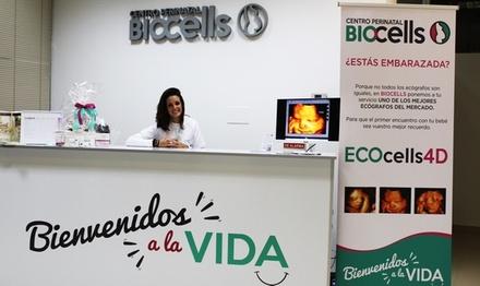 Ecografía 4D con vídeo, fotos de la sesión y canastilla de bebé desde 49,95 € en Centro Perinatal Biocells