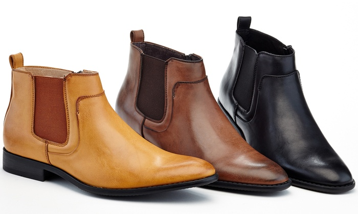 769a4b76f13a Up To 62% Off on Adolfo Men s Chelsea Dress Boots