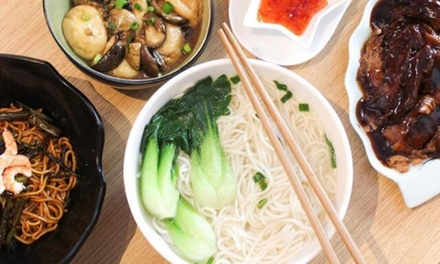 Noodle Meal with Soft Drink Each $9.99, 2 $19.98 or 4 Ppl $39.96 at A Bowl Of Noodles Up to $63.20 Value