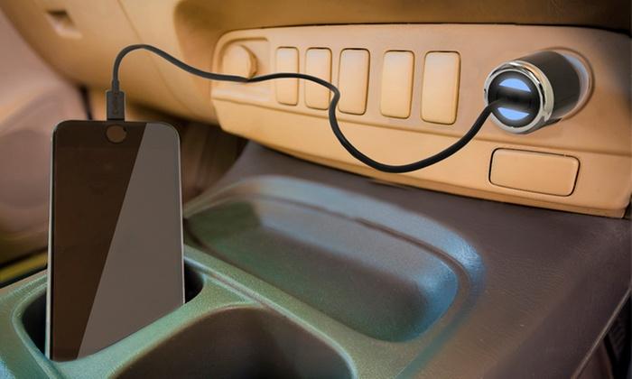 Adattatore USB Lightning da auto