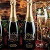 Up to 59% Off Custom-Engraved Bottles of Wine