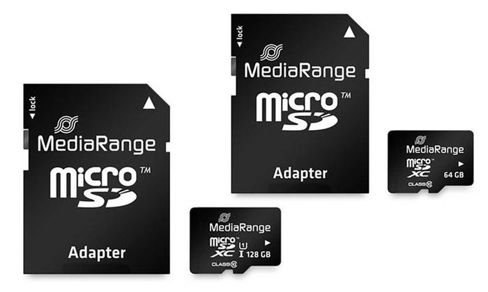 microsdxc karte mit sd adapter groupon goods. Black Bedroom Furniture Sets. Home Design Ideas