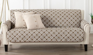 Printed Reversible Stain Resistant Furniture Protector (2-Piece)