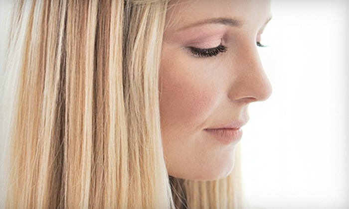 Studio 608 - Waunakee: Haircut and Conditioning Treatment with Optional Full or Partial Highlights at Studio 608 (Up to 63% Off)