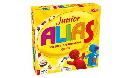 One or Two Junior Alias Board Games from £9.98