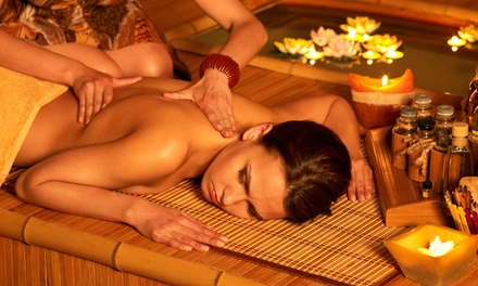 60-Minute Full Body Massage, or 45-Minute Body Massage and 45-Minute Foot Spa at Spa Thrive (Up to 40% Off)