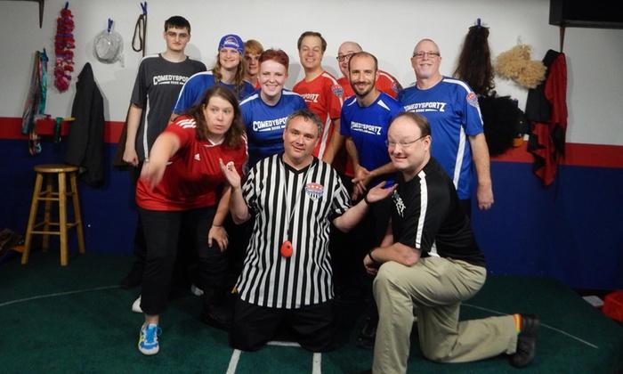 ComedySportz Boise - ComedySportz: ComedySportz Boise Improv Show - Fridays Through January 1, 2016
