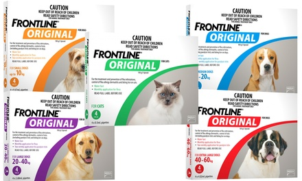 for a FourPack Frontline Original Don't Pay up to $105.38