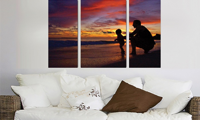 CreateMyWalls.com: Photo-Canvas Wall Hanging from CreateMyWalls.com (Up to 67% Off). Two Options Available.