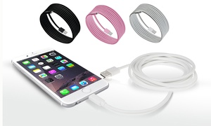 6-Foot Apple-Certified Lightning Cable for iPhone (1-, 2-, or 3-Pack)