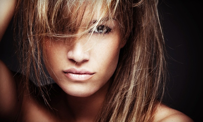 Halo Hair Salon - South Mays Commercial Park: $35 for Two Airbrush Tans at Halo Hair Salon in Round Rock ($70 Value)