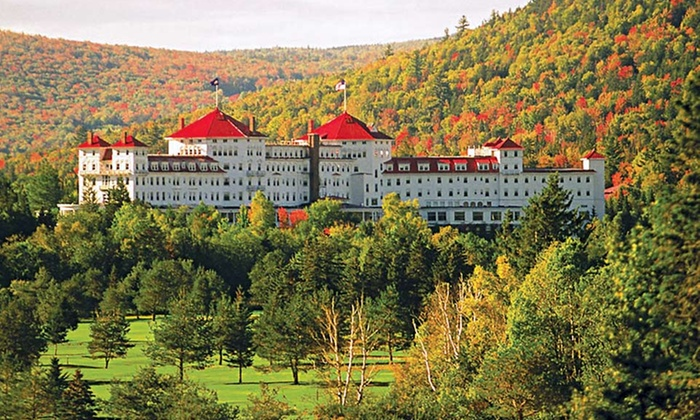 null - Worcester: Stay at Omni Mount Washington Hotel in Bretton Woods, NH