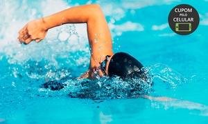 PL Fit Academia: 1, 2 ou 3 meses de musculação + aulas coletivas (opção com hidroginástica ou natação) na PL Fit Academia - Carlos Prates