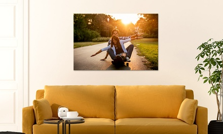 """One Custom 24""""x16"""", 30""""x24"""", 36""""x24"""" Canvas Print from CanvasOnSale (Up to 88% Off)"""
